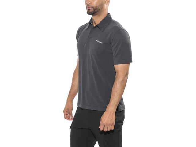 Columbia Sun Ridge Bluzka z krótkim rękawem Mężczyźni, black